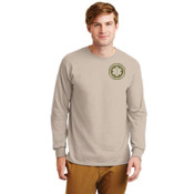 Sand Long Sleeve Cotton T-shirt